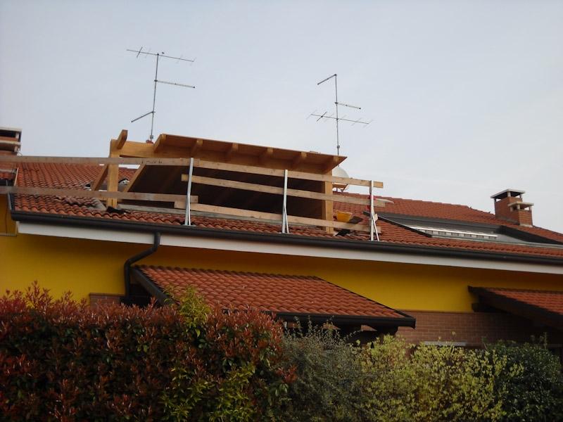 Copertura in legno per terrazzi | Coperture edili e tetti