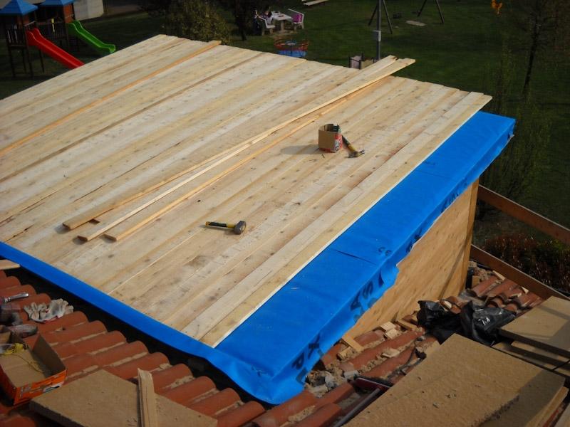 Copertura in legno per terrazzi coperture edili e tetti - Mobile terrazzo legno ...